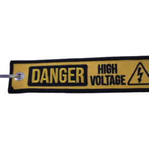High Voltage Key Tag