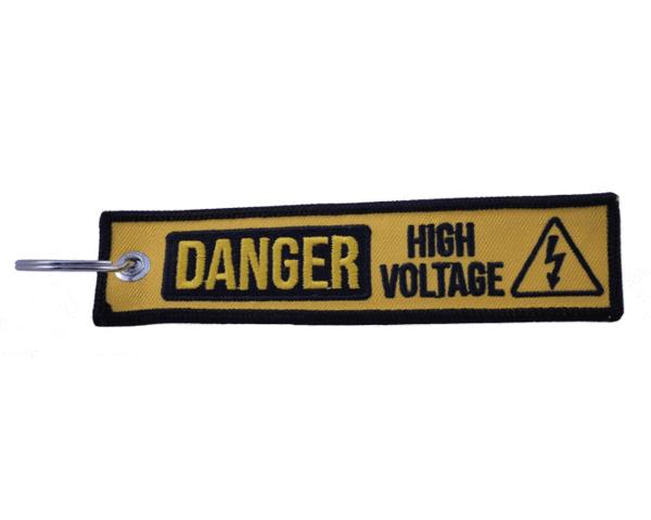 High Voltage Key Tag