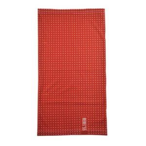 Motorcycle Neck Tube Polka Dot Red