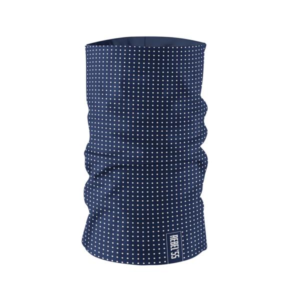 Neck Tube Polka Dot Blue