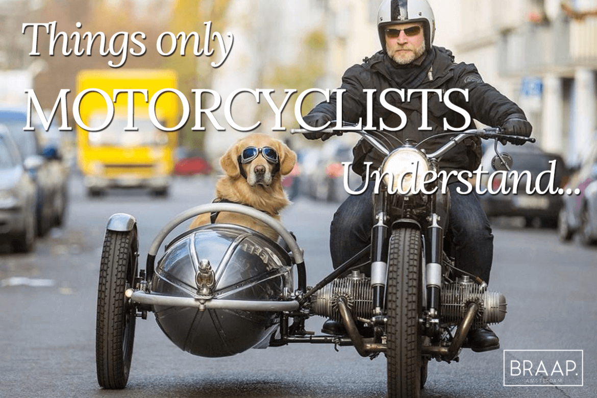 Things only motorcyclists understand