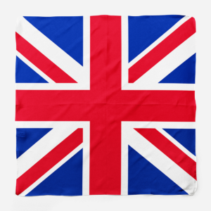 Silk Scarf British Flag