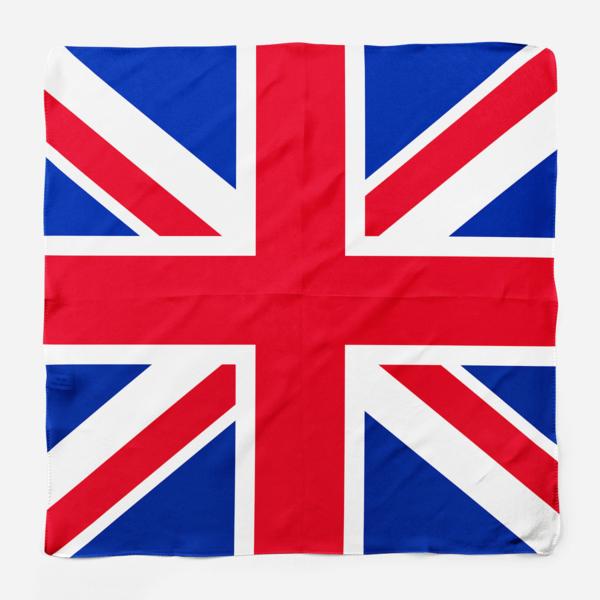 Silk Scarf British Flag