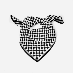 Silk Scarf Chess Chequered