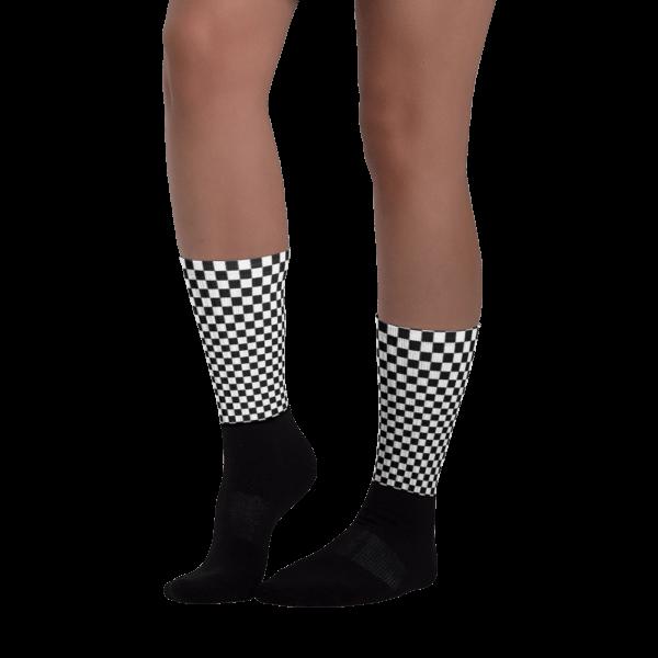 Chequered Flag Socks